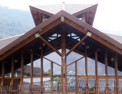 完全國產材之綠建築-那瑪夏民權國小圖書館